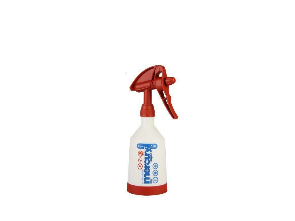Mercury Super PRO+ 360° VITON red Spray bottle 0,5 litre