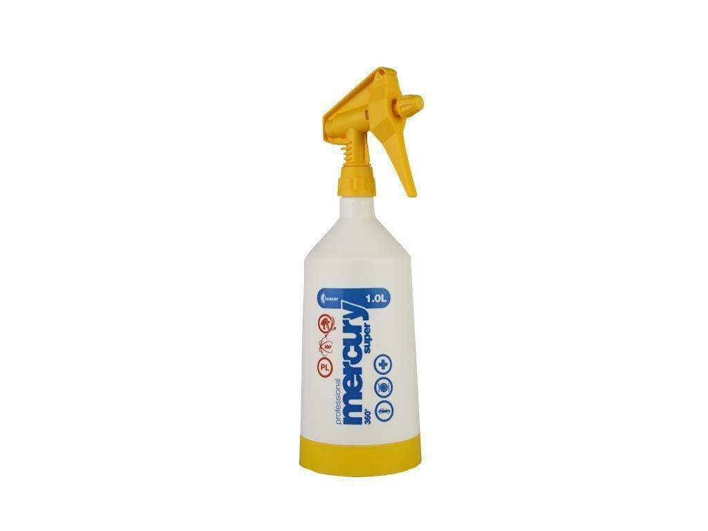 Mercury Super PRO+ 360 ° VITON yellow 1 liter spray bottle