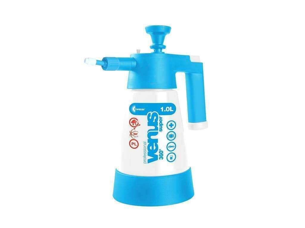Venus Super Pro+ pump sprayer 360° 1 litre light blue