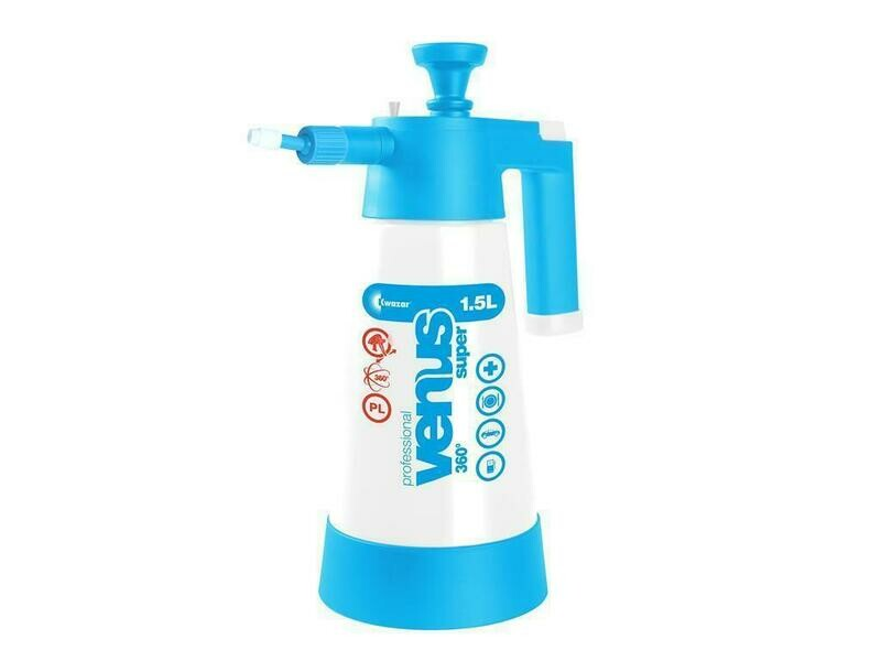 Venus Super Pro+ 360° pump sprayer 1.5 litres light blue