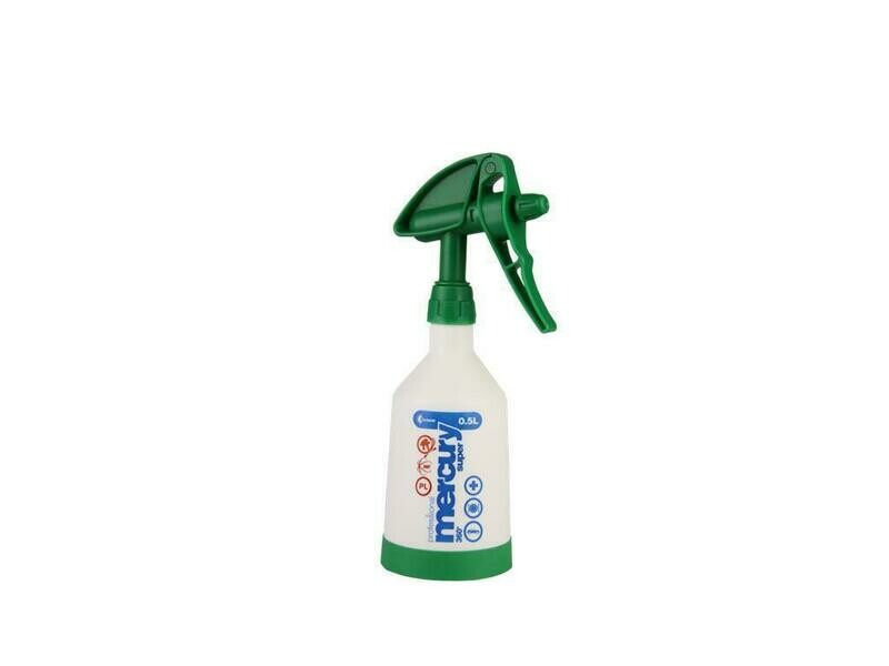 Mercury Super PRO+ 360 degree VITON green spray bottle 0,5 liter