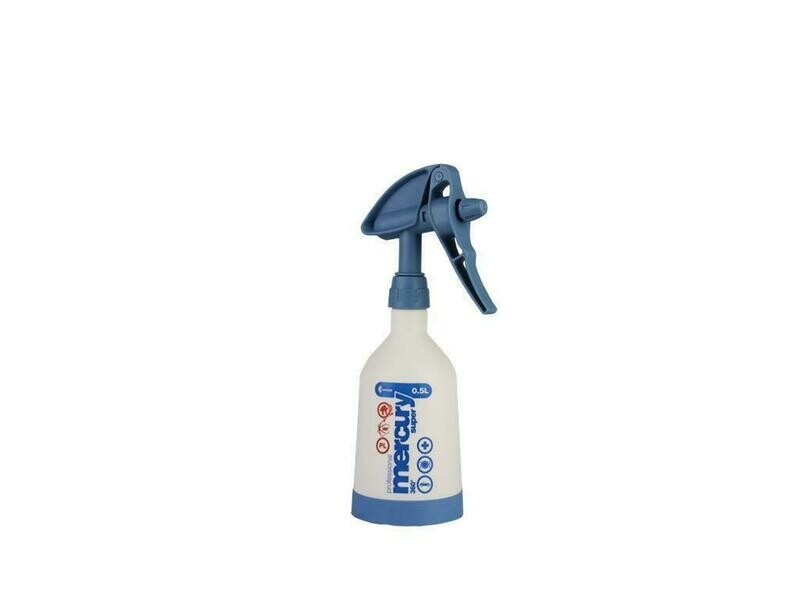 Mercury Super PRO+ 360° VITON blue spray bottle 0,5 liter