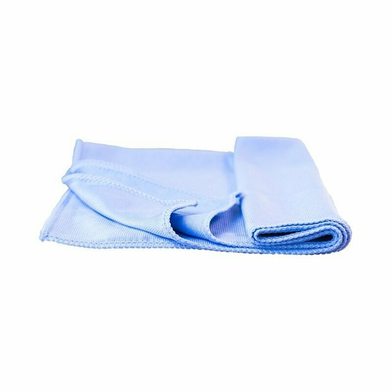 High quality glass microfiber cleaning cloth 40cm x 48cm