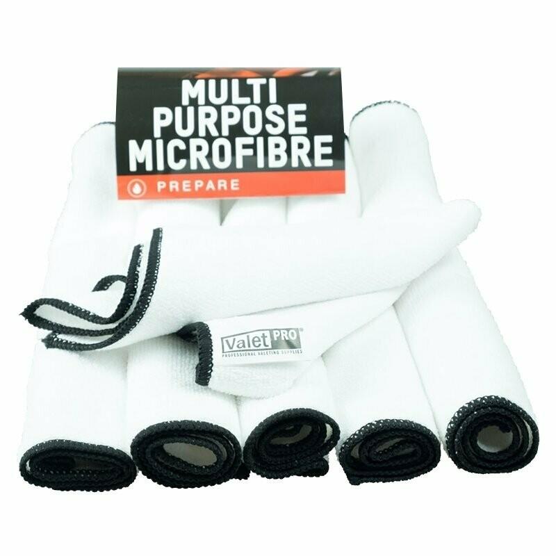Multi Purpose Microfibre 6 pack white