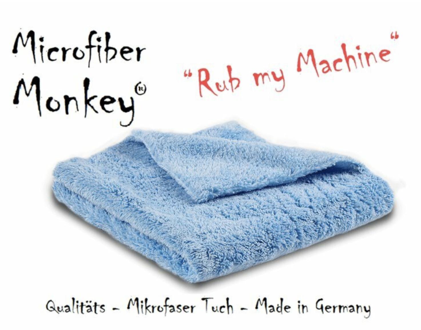 "Microfibre Car Cloth- Borderless ""Rub my machine"""