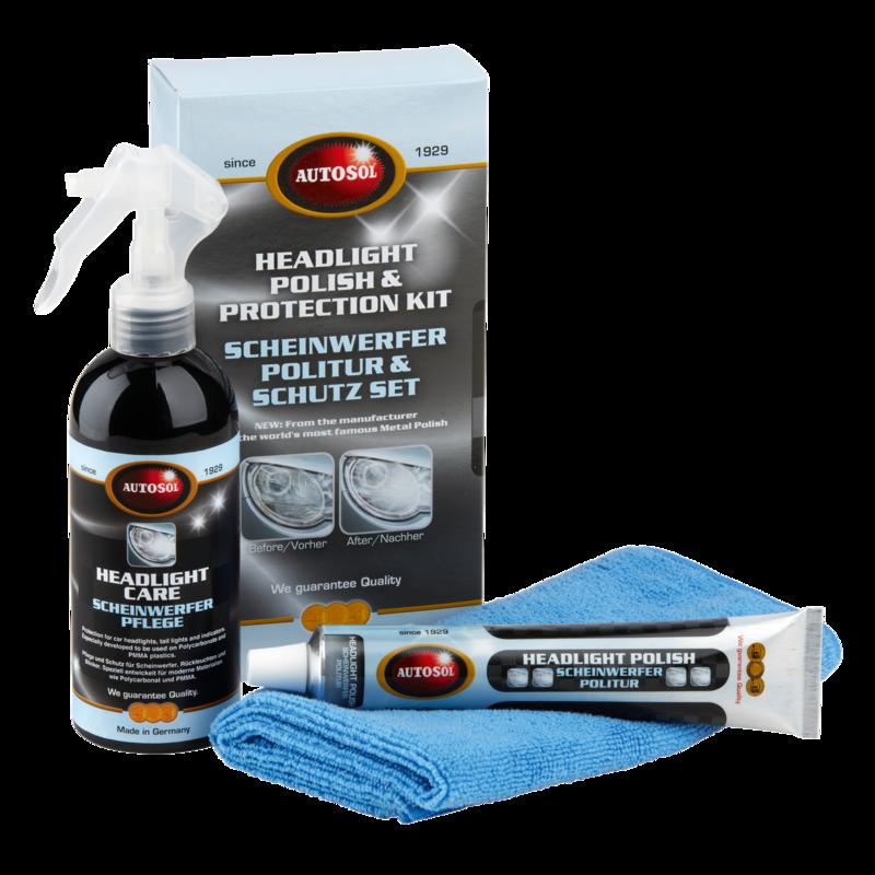 Headlights polish & protection set