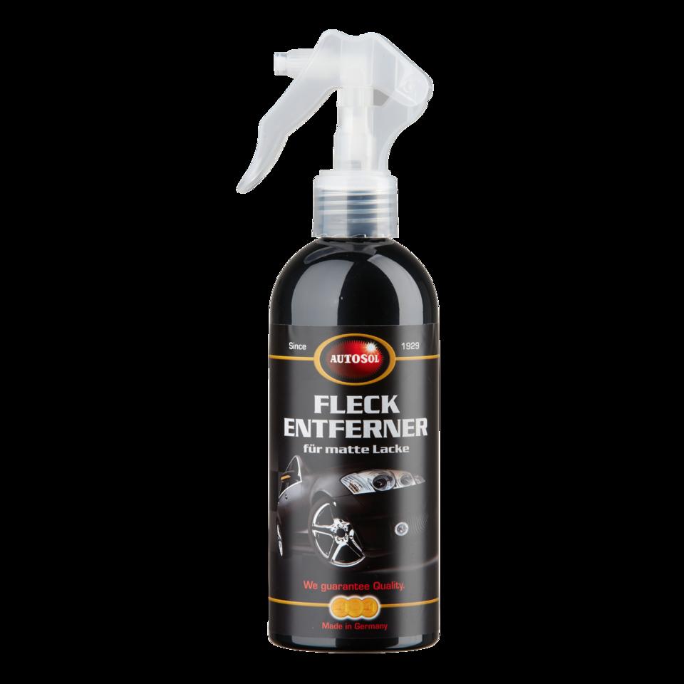 Stain remover for matt paints
