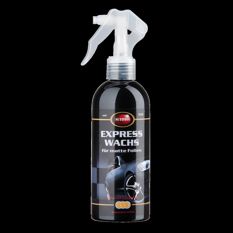 Express wax for matt foils