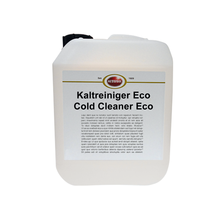 Kaltreiniger Eco