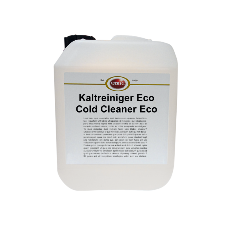 Cold cleaner Eco