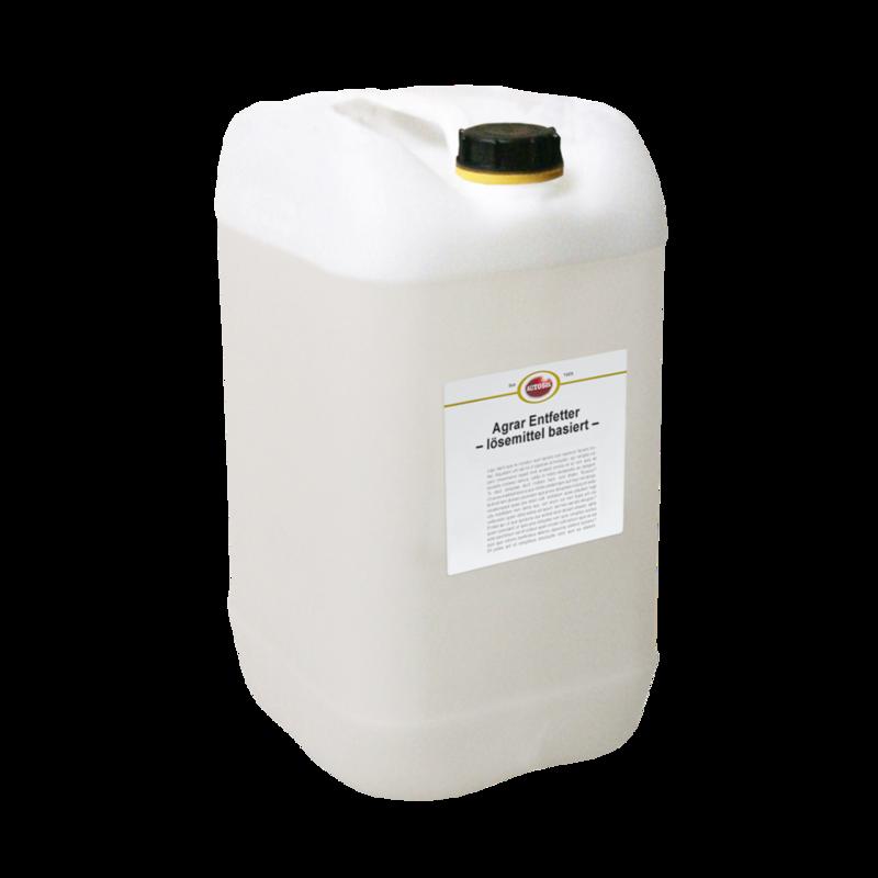 Agricultural degreaser - solvent based
