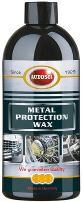 Metal protection wax