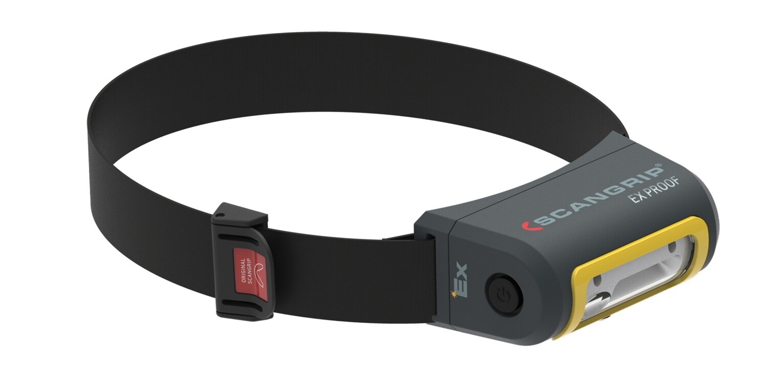 EX-VIEW EX-protected Compact and robust headlamp for explosive atmospheres