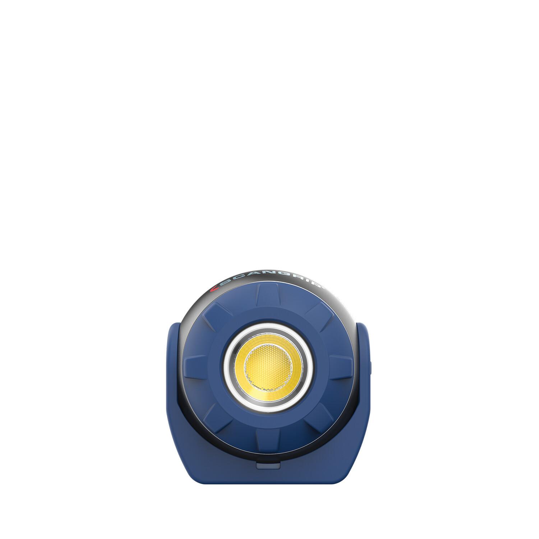 SOUND LED S Kleine 600 Lumen Arbeitsleuchte mit eingebautem Lautsprecher und Akku