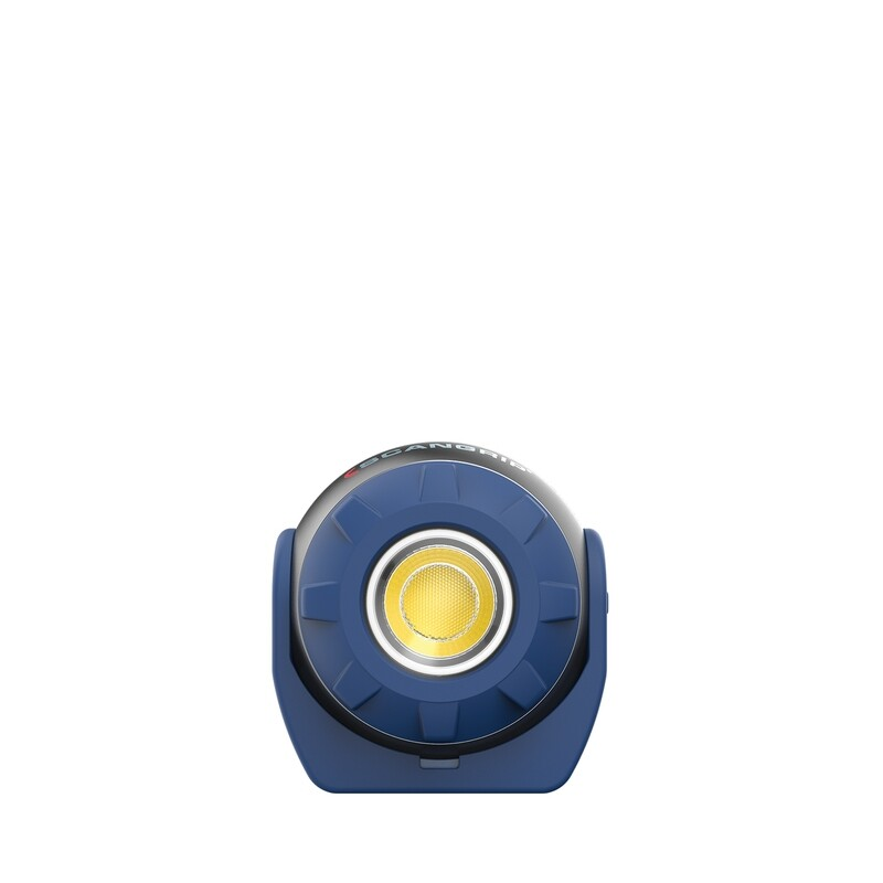 SOUND LED S Small 600 lumen work lamp with built-in speaker and battery