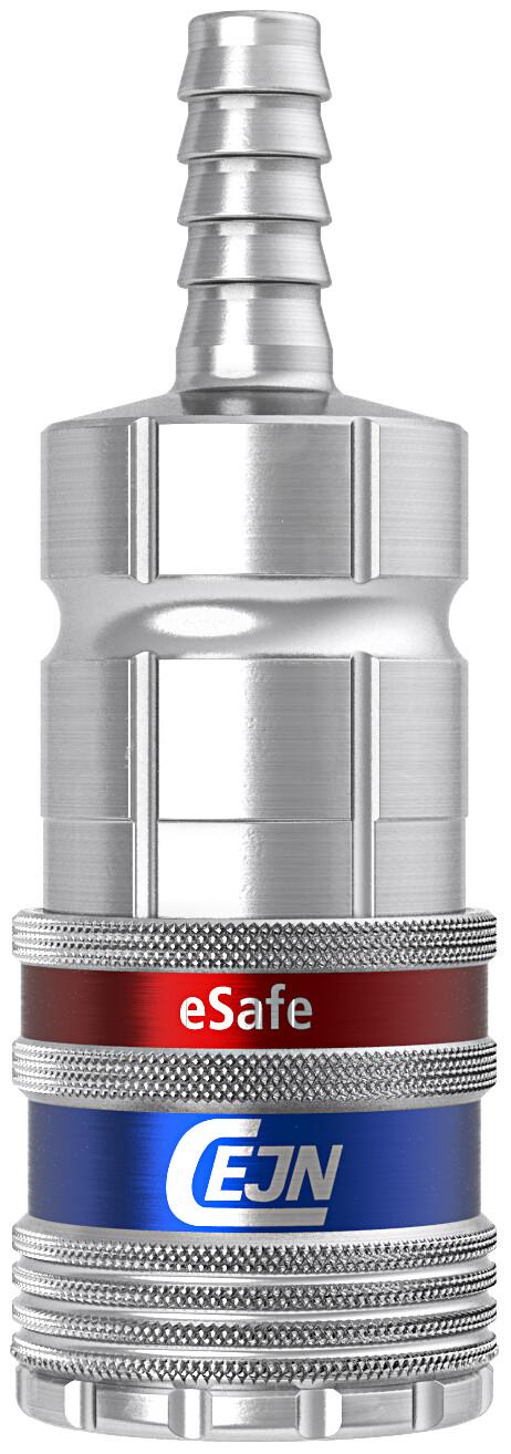 Sicherheits-Kupplung Ø 10.0 mm Schlauchanschluss, NBR