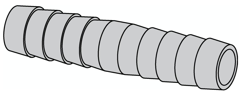 Rohrverbinder Ø 10x10 mm