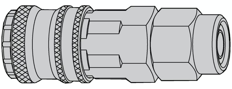 Sicherheits-Kupplung Streamline   6.5x10.0, NBR