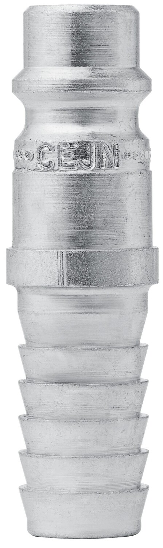 Nippel Ø 10.0 mm Schlauchanschluss, Stahl gehärtet