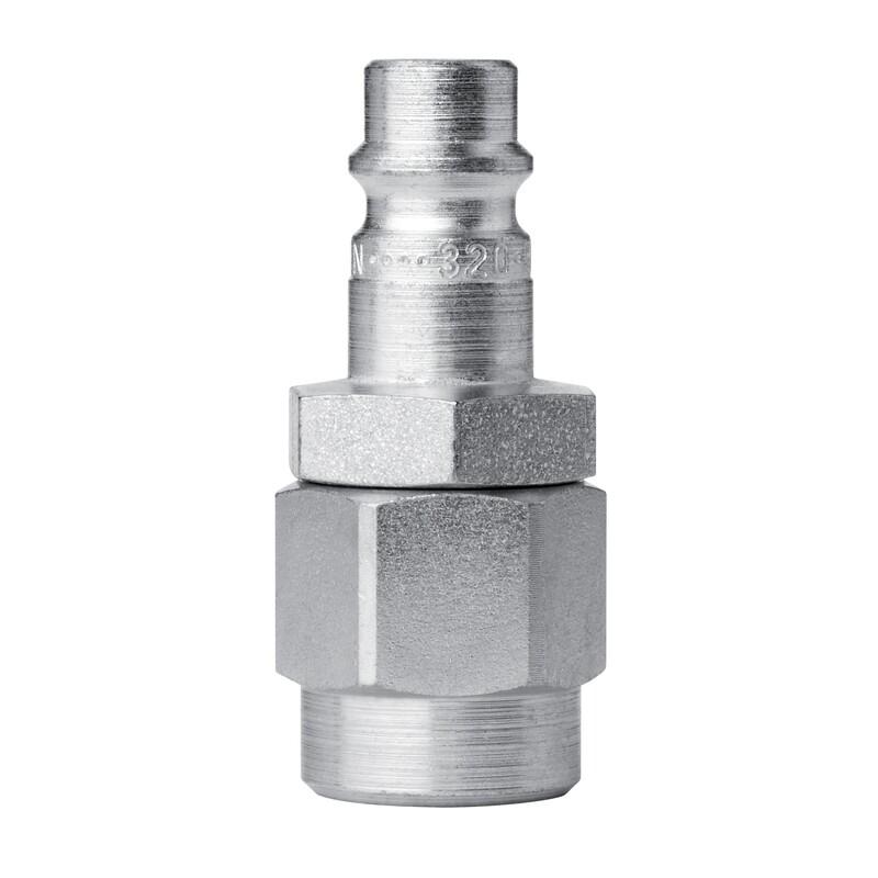 Nippel Streamline   8.0x12.0, Stahl gehärtet