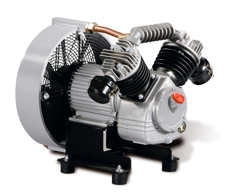 Piston compressor EUROCOMP EPC 840-G with sound insulation hood