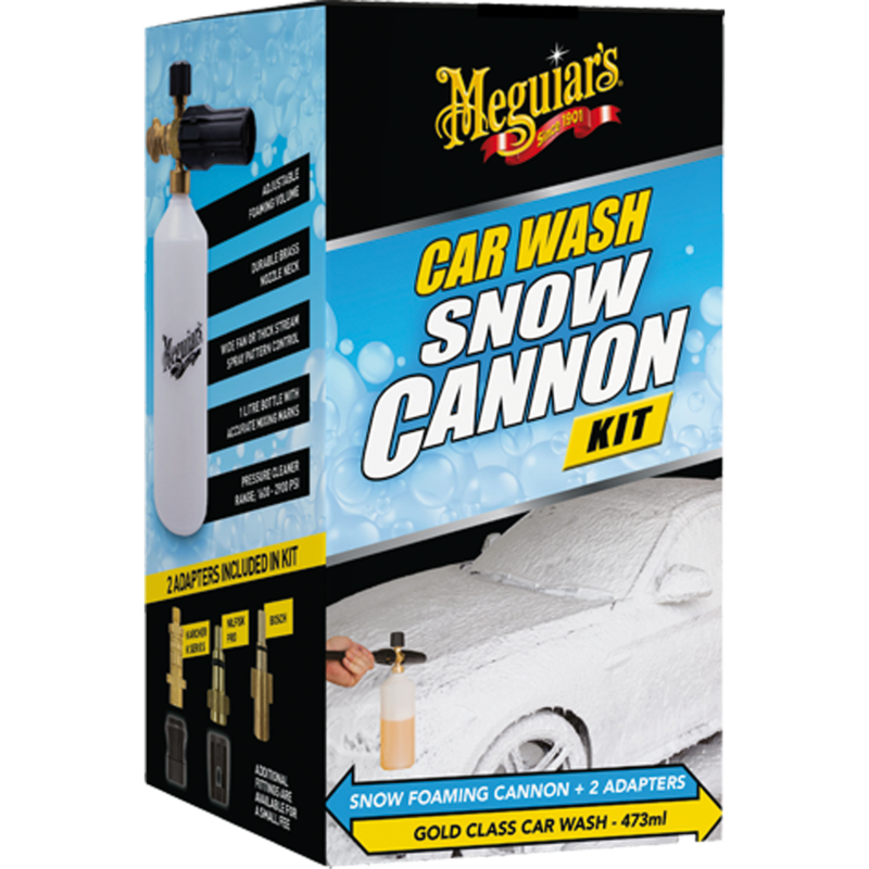 Car Wash Snow Cannon Kit