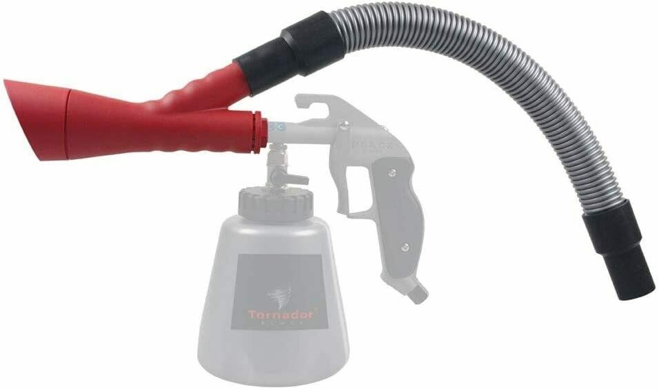 Adaptor for impulse cleaning gun