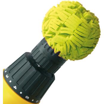 Polishing ball yellow, ø 6.98 cm