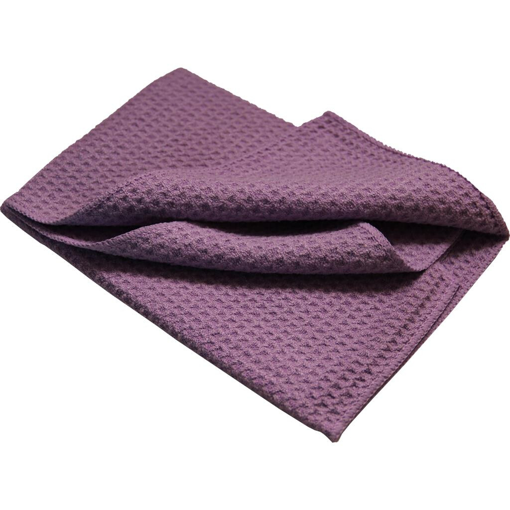 Microfiber waffle cloth