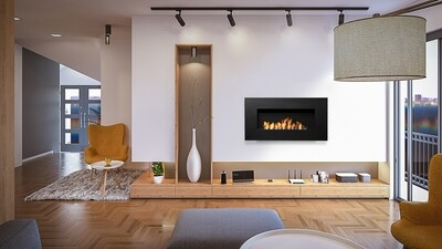 Icon Nero Wall Hung Fires