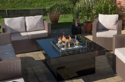 Nu Flame Blaze Square Outdoor Gas Fire