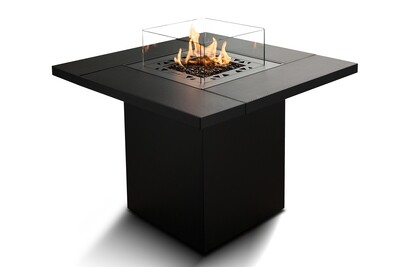 Planika Square Table Outdoor Gas Fire