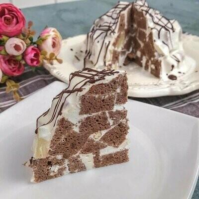 Торт шоколадно-сметанный  панчо