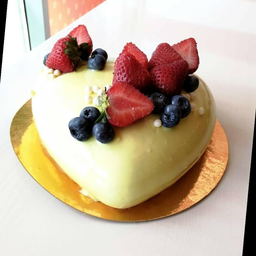 Торт банановый мусс, 0,9 кг