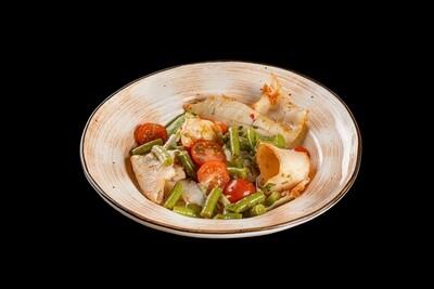 Салат с кальмарами, 220 гр