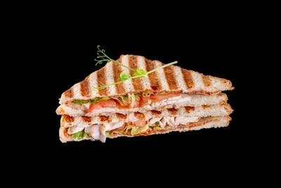 Сэндвич цыпленок BBQ
