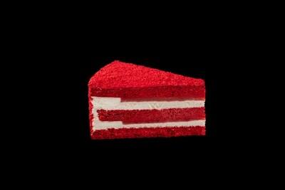 """Торт """"Красный бархат"""" с клубникой"""