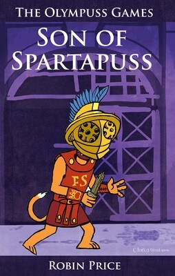 Son of Spartapuss (book for 6-8 years old) and poster map of The Feline Empire