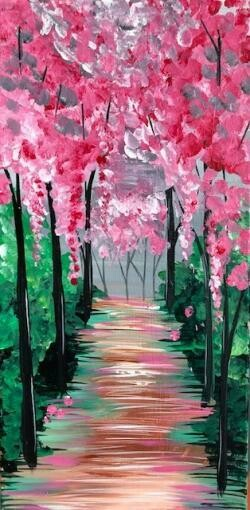 Adult Painting Kit- Morning Blossoms
