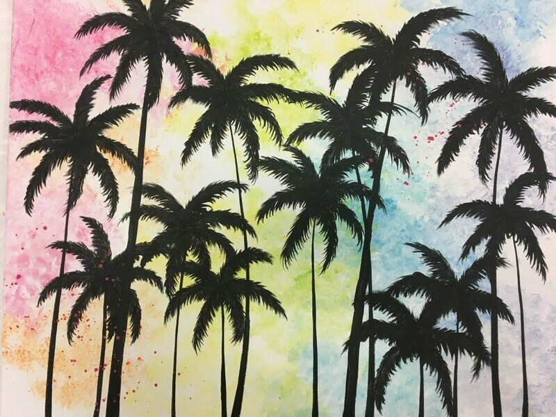 Adult Painting Kit- L.A Palms