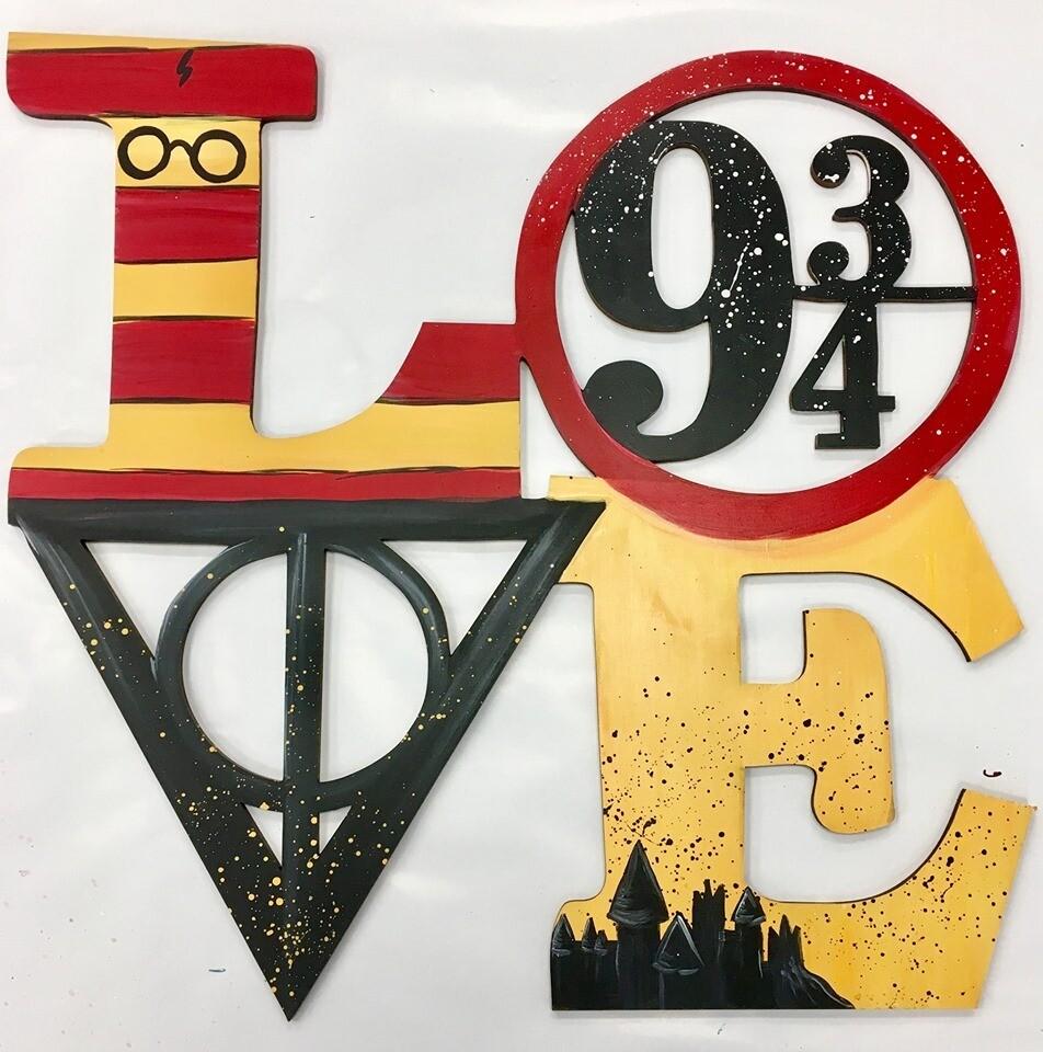 LOVE Harry Potter Door Hang Kit