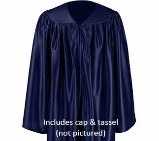 Shiny Cap and Gown