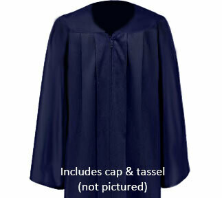 Matte Cap and Gown