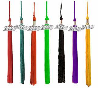 Single Color Graduation Tassels