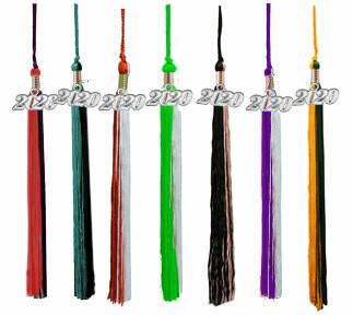 Multi Color Graduation Tassels