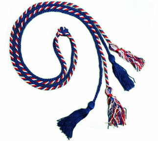One Single, One Multi-Color Double Cords