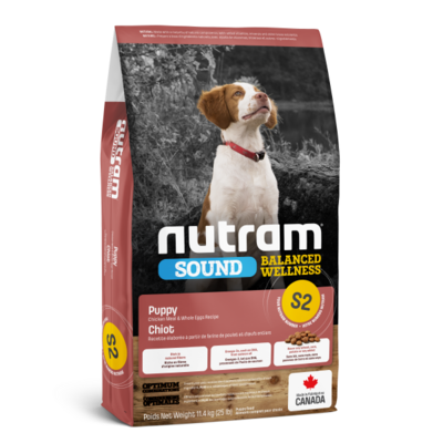 Nutram S2 Sound Chicken & Egg Puppy