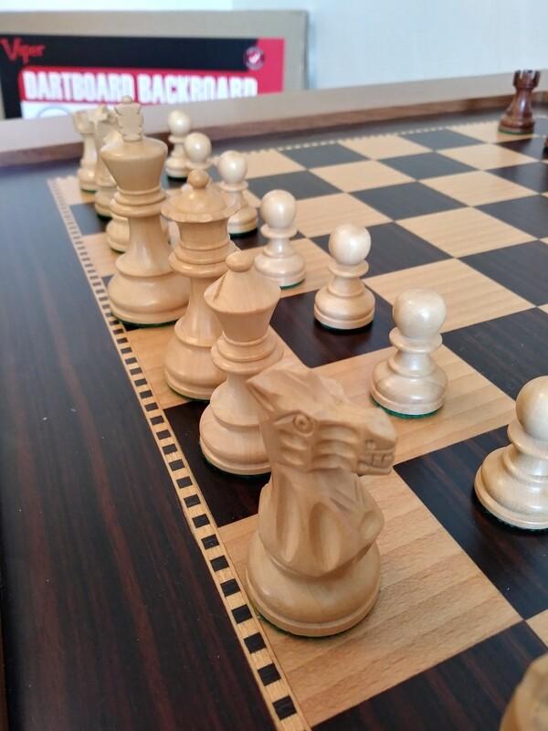 Custom Handmade Chess Game Table