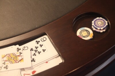 The Hamilton 2-1 Dining Top~Card Game Table
