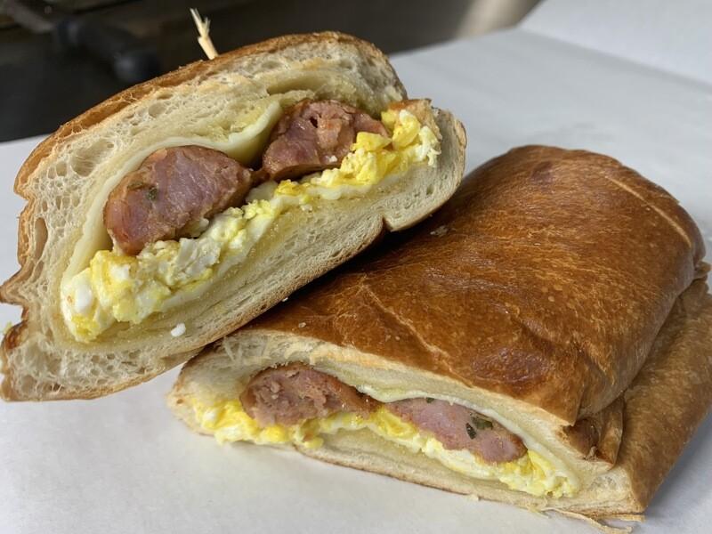 Americano Sandwich - bacon/ egg/ cheese